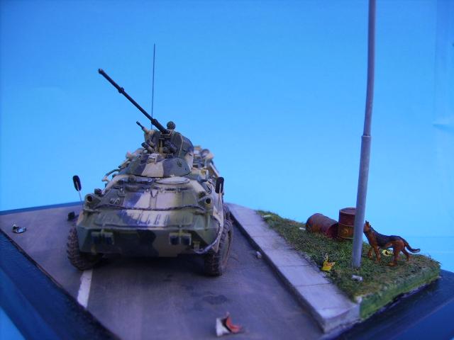 BTR 80 A 1/72° Btr3310