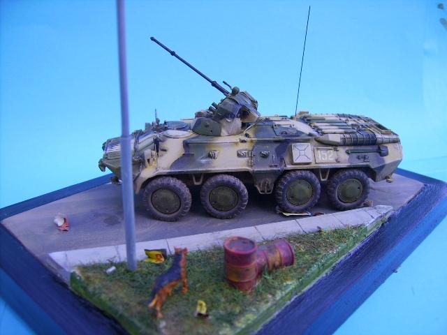 BTR 80 A 1/72° Btr3410