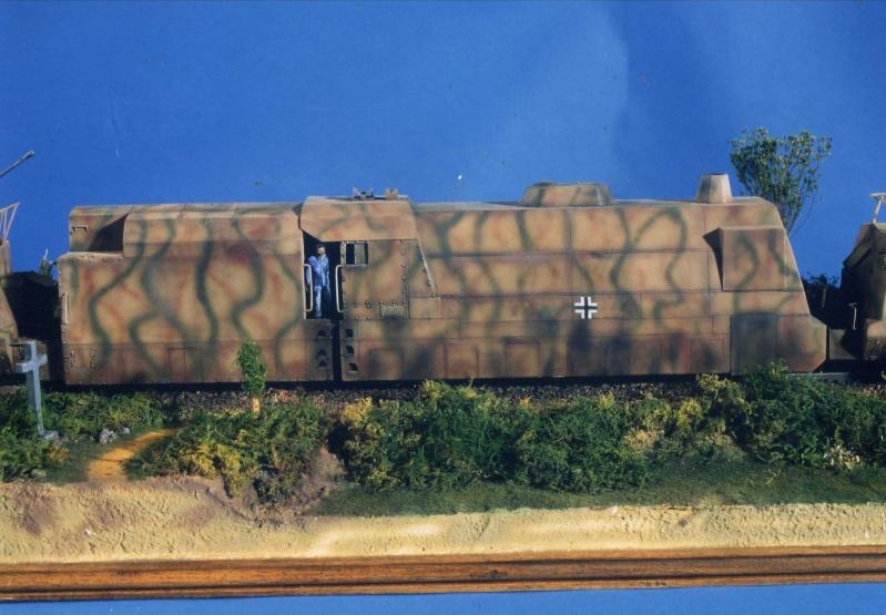 Panzerzug - Scratch au 1/35 Pz110