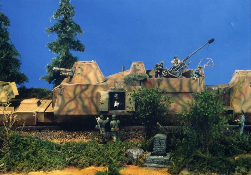 Panzerzug - Scratch au 1/35 Pz210