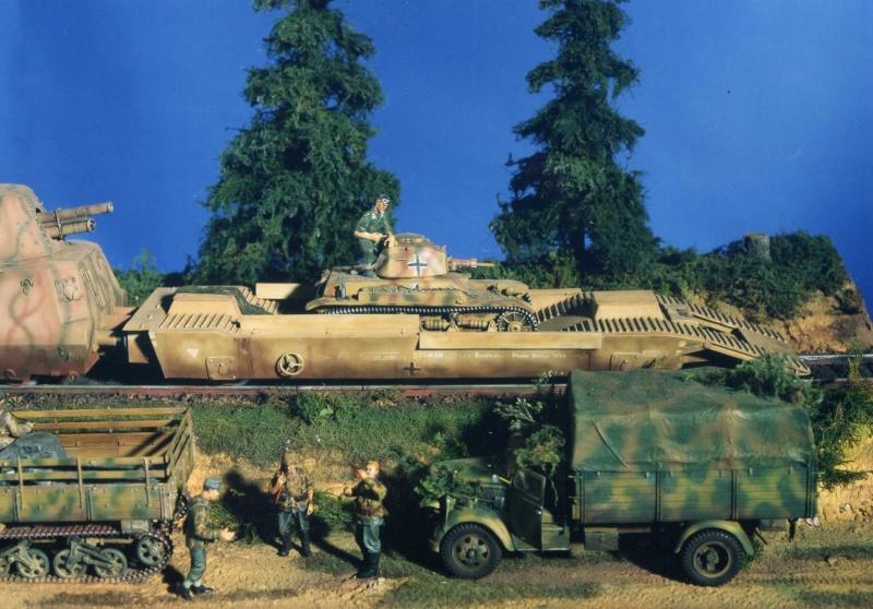 Panzerzug - Scratch au 1/35 Pz310