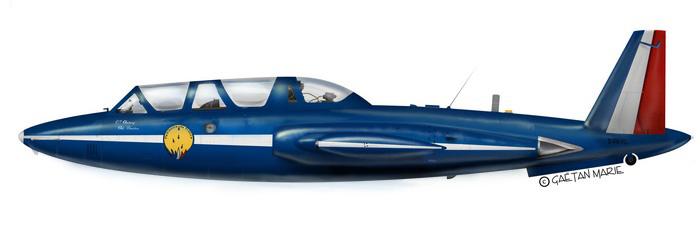Fouga Magister Fouga-10