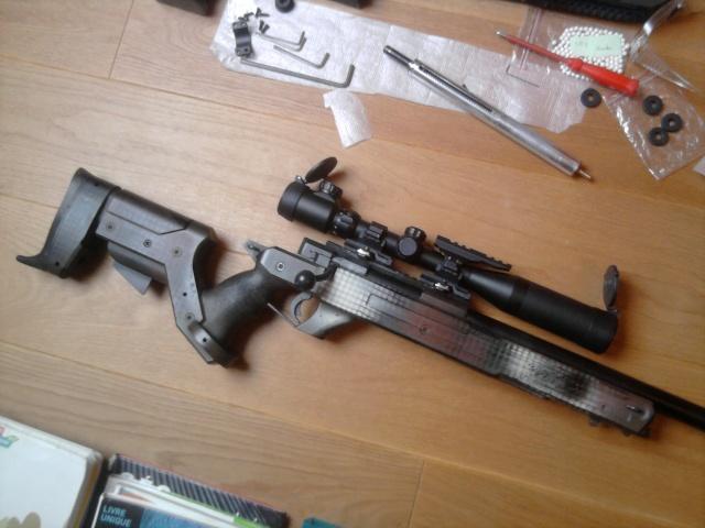 Snipe: Type 96 John Allen Enterprises Stock Photo010