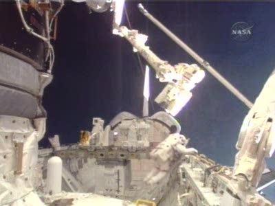 [STS122] EVA3 Nasatv11