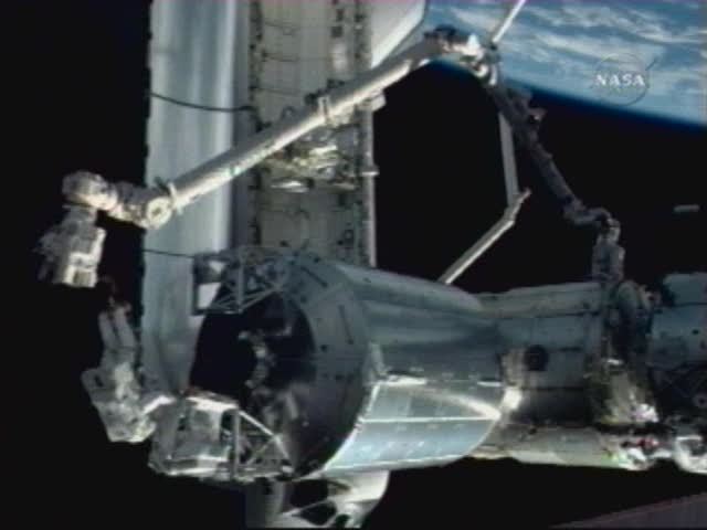 [STS122] EVA3 Nasatv12