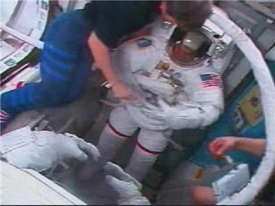 [STS122] EVA1 Temp210