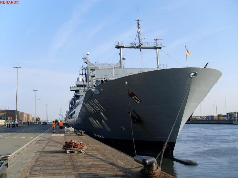 Preparatif et arrivée des Navires en photos Sl372961