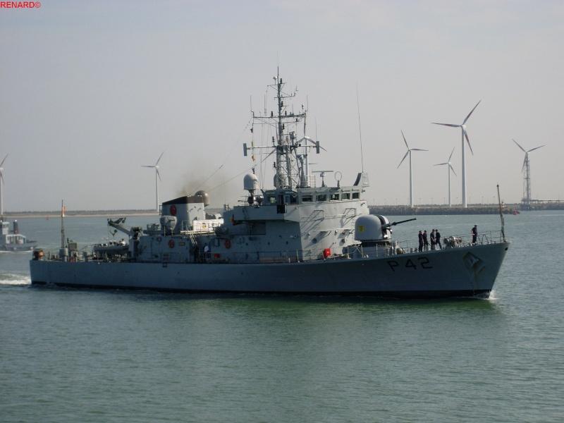 Preparatif et arrivée des Navires en photos Sl373027