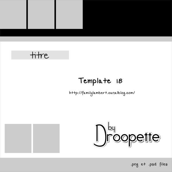 Les Templates de Droopette Previe33
