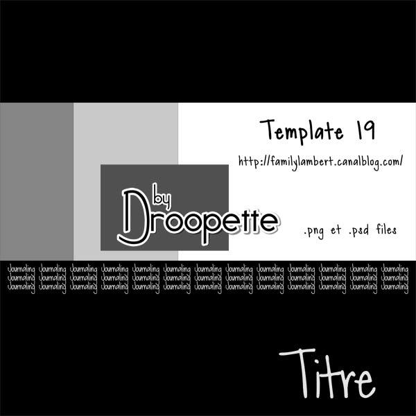 Les Templates de Droopette Previe34
