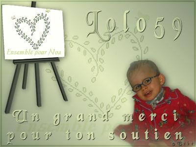 Cadeaux reçu pour les concours Lolo10
