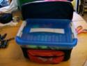 sacoches saccoche - Fabrication de sacoche latérale pour trike (siège résine)  100_0712