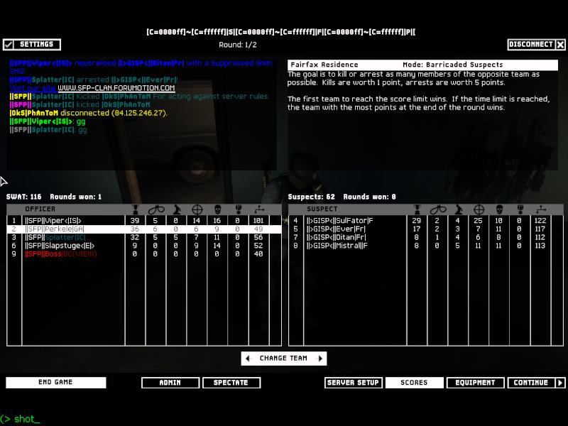   SFP   vs GISP  27.01.08 Result WON 2-0 Shot0012