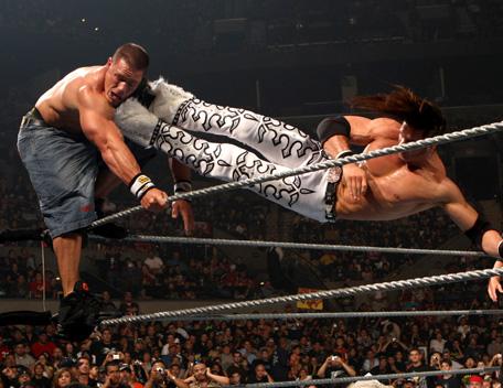 Randy Orton vs Jhon Morrison -Ladder Macht Dropki11