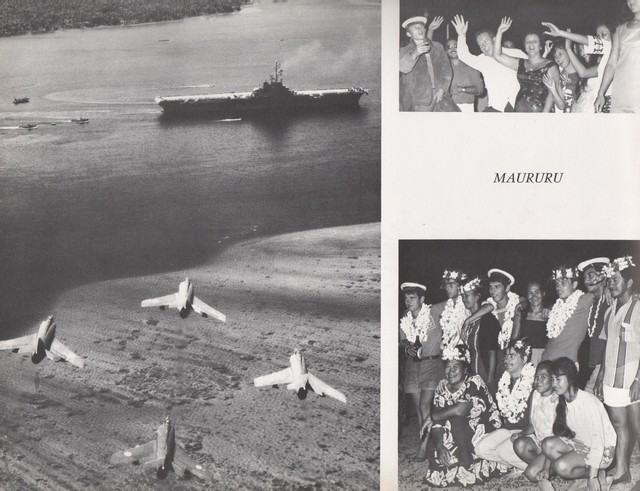 [Opérations diverses] ALBUM du CLEMENCEAU - Pacifique 1968 Clem4411