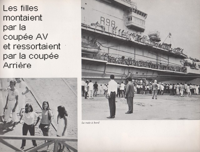 [Opérations diverses] ALBUM du CLEMENCEAU - Pacifique 1968 Clem5012