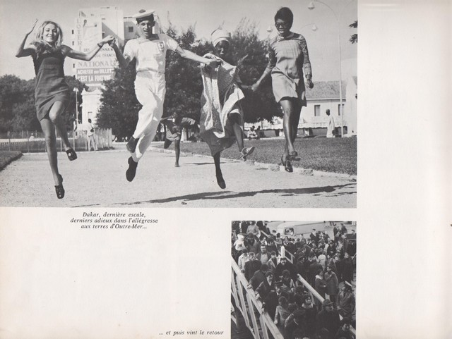 [Opérations diverses] ALBUM du CLEMENCEAU - Pacifique 1968 Clem5511