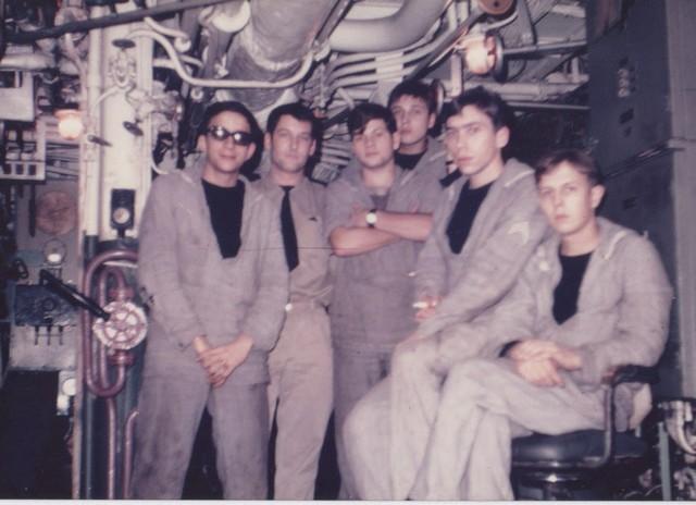[Opérations diverses] ALBUM du CLEMENCEAU - Pacifique 1968 Equipa12
