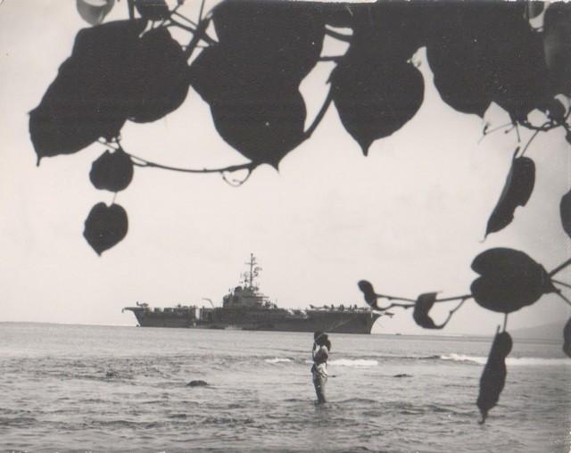 [Opérations diverses] ALBUM du CLEMENCEAU - Pacifique 1968 Vairao10