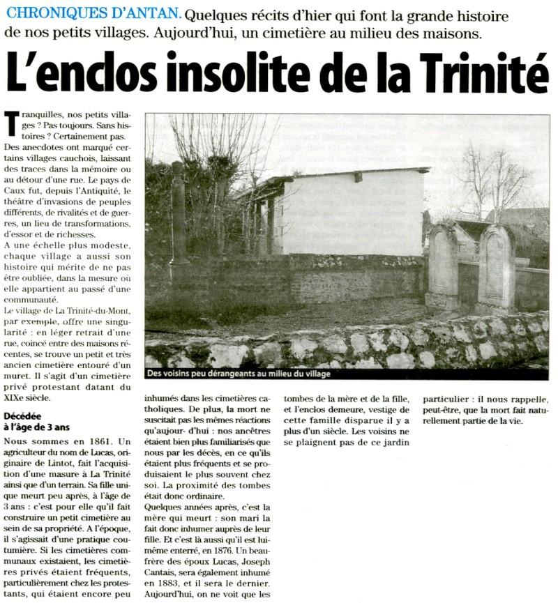 La Trinité-du-Mont - Enclos insolite Trinit10