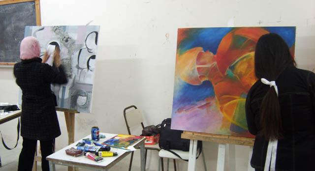 Peinture السنوات الثانية - 2007-2008 (isamk) Peint811