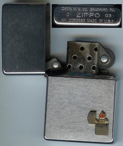 Les ZIPPO personnalisés d'Aurel' Zippo510