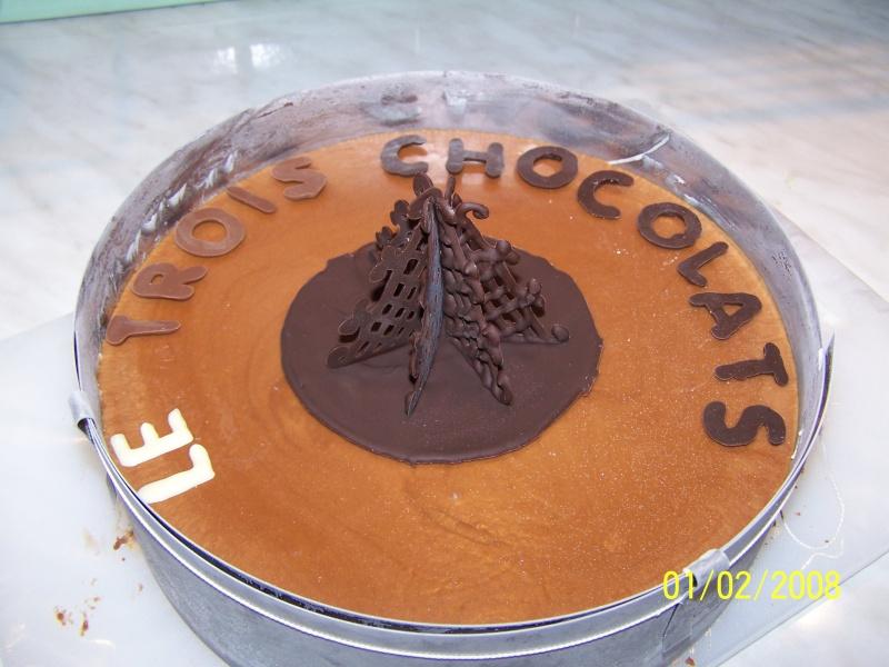 Décor en chocolat pour occasions speciales Trois_10