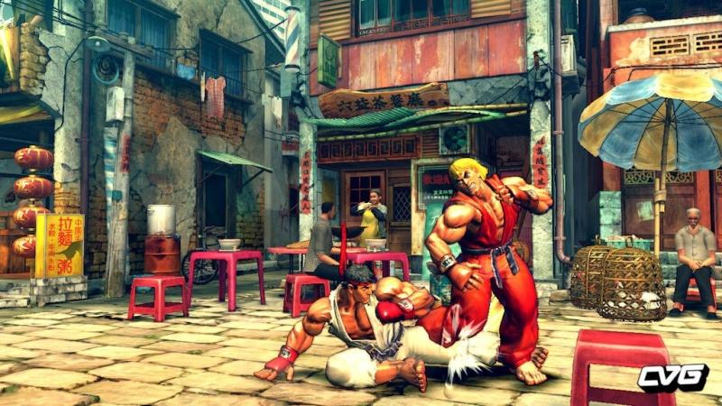 Street Fighter IV se montre en images ! 00001123