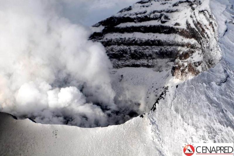 Le volcan Popocatepetl - Mexique P0707110