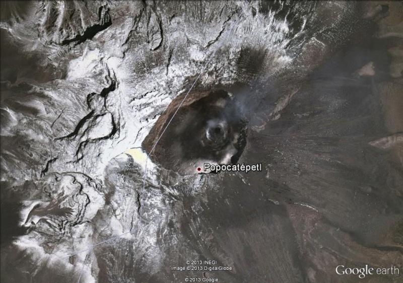Le volcan Popocatepetl - Mexique Popo10