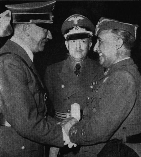 ¿Quiso Hitler derribar a Franco? Franco10