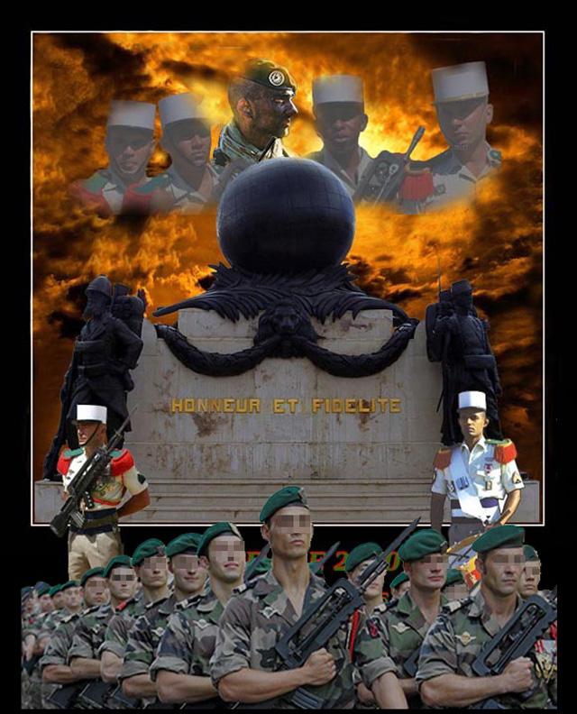 Camerone : à Aubagne, la Légion étrangère sur le pied de guerre - 30 avril 2010 1_foru11