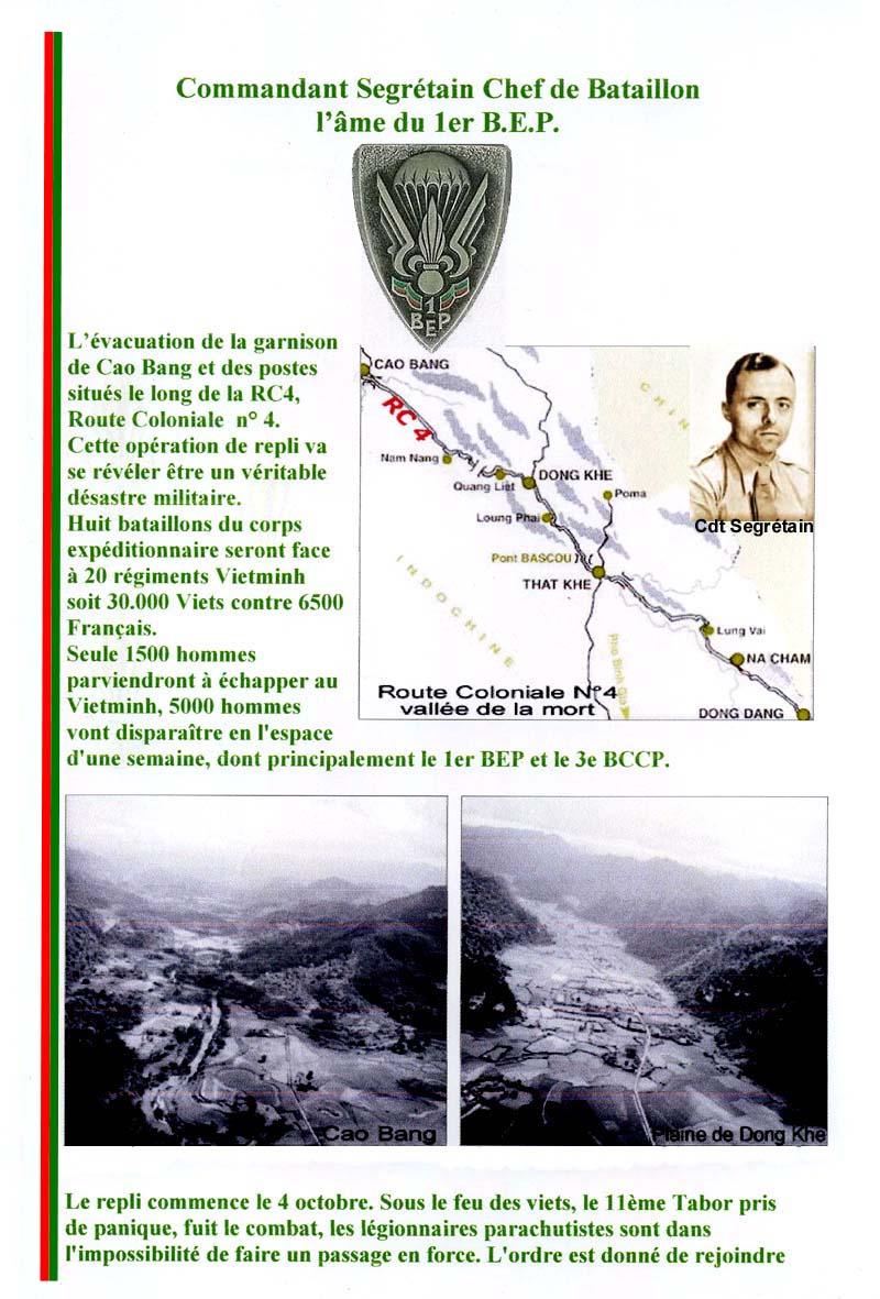 SEGRETAIN Pierre - Chef de bataillon - 1er RCP - 1er BEP tombé le 8 octobre 1950 1_page11