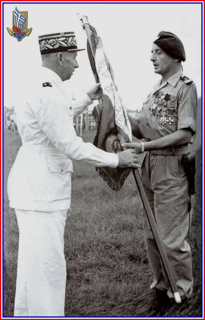 Guerre d'Indochine parcours de Marcel Bigeard 1945/1954 2_bige10