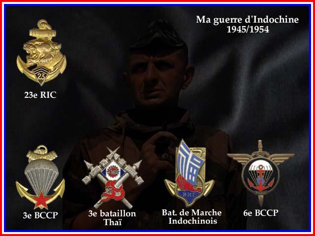 Guerre d'Indochine parcours de Marcel Bigeard 1945/1954 3_cadr10
