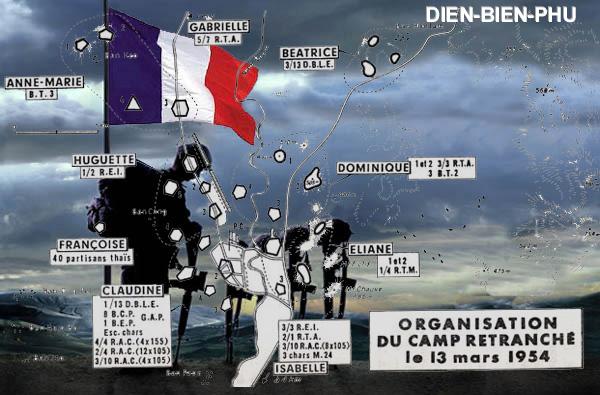Guerre d'Indochine parcours de Marcel Bigeard 1945/1954 5_camp10