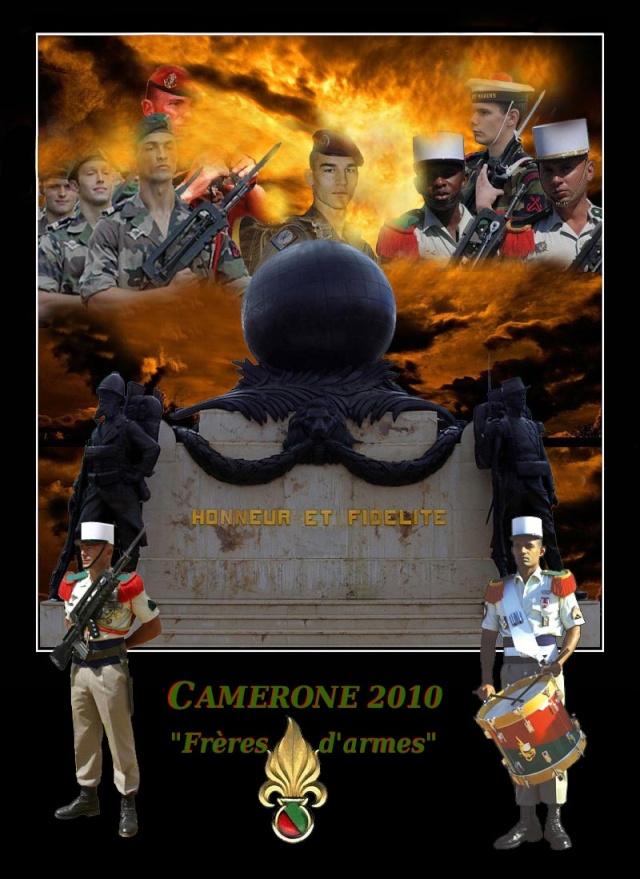Camerone : à Aubagne, la Légion étrangère sur le pied de guerre - 30 avril 2010 6_plaq10