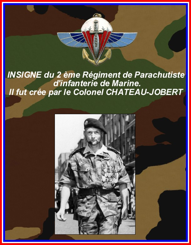 CHATEAU-JOBERT Pierre -colonel- dit CONAN Insign12