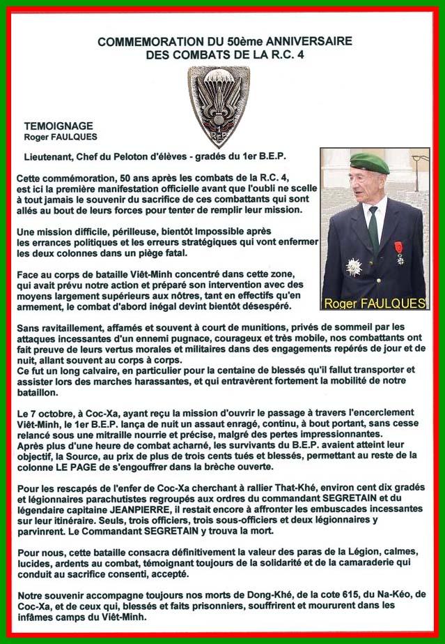 FAULQUES Roger - Chef de Bataillon 1er REP 2ème REP Roger_10
