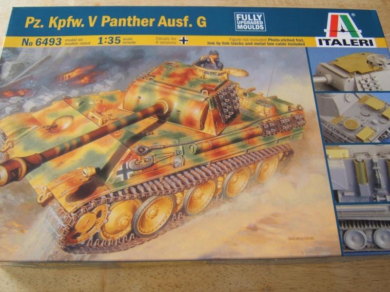 """Panther  Auf  G   """"Italeri 1/35"""" Dscf7319"""