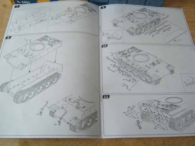 """Panther  Auf  G   """"Italeri 1/35"""" Dscf7327"""