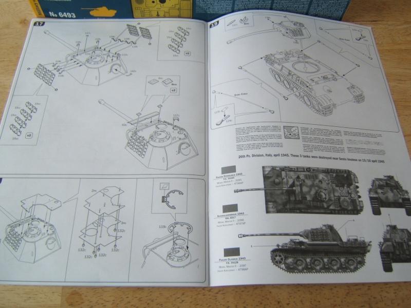 """Panther  Auf  G   """"Italeri 1/35"""" Dscf7329"""