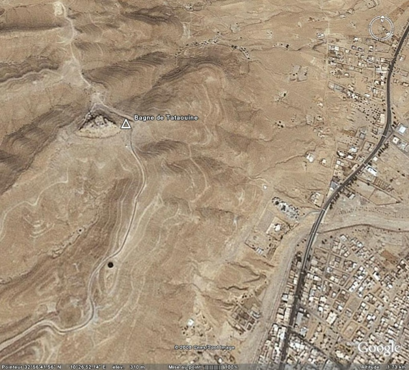 Bagnes et Camps d'internement / déportation découverts avec Google Earth 210