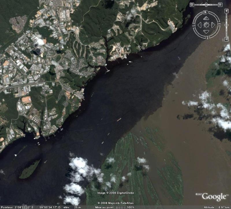 L'estuaire de l'Amazone : beau et surprenant à plus d'un titre ! Amaz10