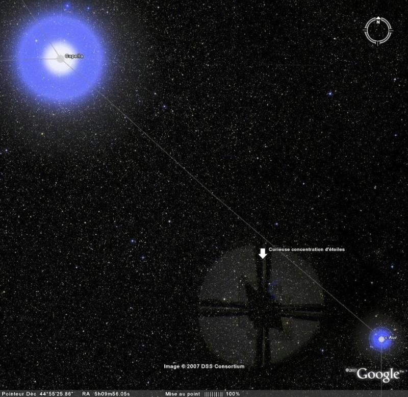 Vues remarquables dans Google Sky Capell10