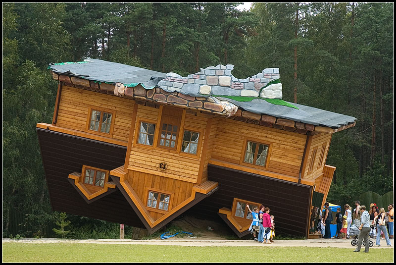 Maison tordue à Sopot - Pologne Dsc38610