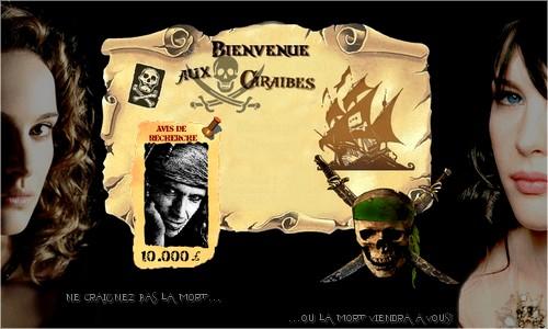 Au temps des pirates des Caraïbes