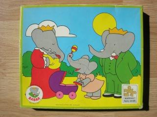 Les puzzles 80's de D.A, séries ou de  gamme de jouets.... Babar10