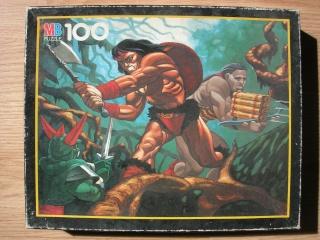 Les puzzles 80's de D.A, séries ou de  gamme de jouets.... Conan10