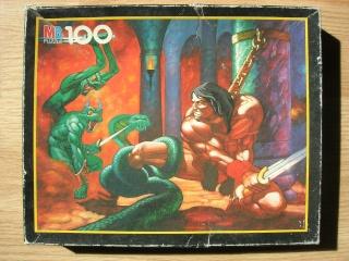 Les puzzles 80's de D.A, séries ou de  gamme de jouets.... Conan110